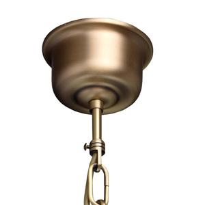 Lampa wisząca Amanda Classic 1 Mosiądz - 295015201 small 10