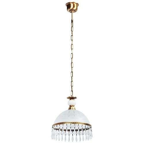 Lampa wisząca Amanda Classic 1 Mosiądz - 295015201