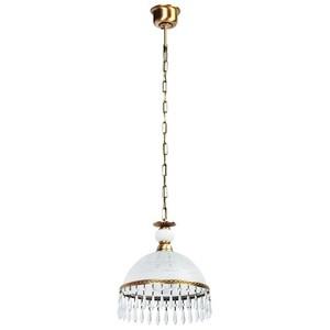 Lampa wisząca Amanda Classic 1 Mosiądz - 295015201 small 0