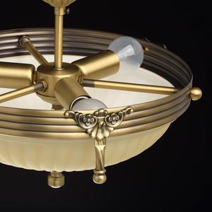 Lampa wisząca Aphrodite Classic 3 Mosiądz - 317011403 small 6