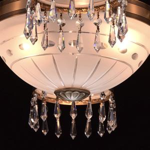 Lampa wisząca Amanda Classic 8 Mosiądz - 295016008 small 6