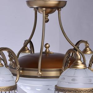 Lampa wisząca Amanda Classic 8 Mosiądz - 295016008 small 8