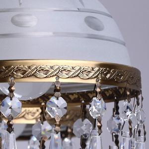 Lampa wisząca Amanda Classic 8 Mosiądz - 295016008 small 10