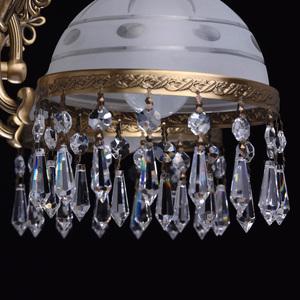 Lampa wisząca Amanda Classic 8 Mosiądz - 295016008 small 11