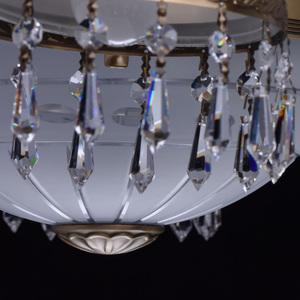 Lampa wisząca Amanda Classic 8 Mosiądz - 295016008 small 13