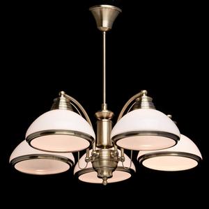 Lampa wisząca Felice Classic 5 Mosiądz - 347010605 small 2