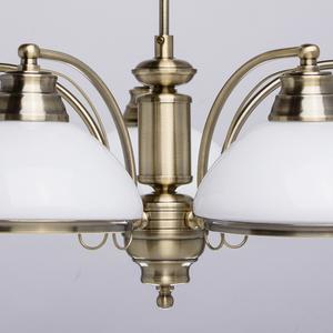Lampa wisząca Felice Classic 5 Mosiądz - 347010605 small 8