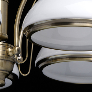 Lampa wisząca Felice Classic 5 Mosiądz - 347010605 small 10