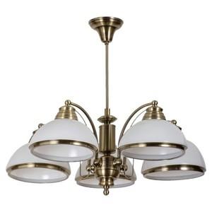 Lampa wisząca Felice Classic 5 Mosiądz - 347010605 small 0