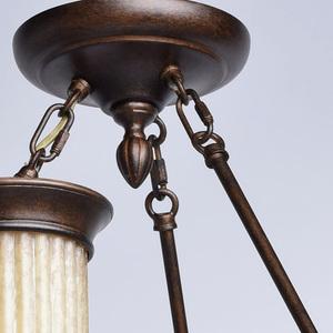 Lampa wisząca Magdalena Country 6 Brązowy - 382010206 small 7