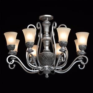 Lampa wisząca Bologna Country 8 Srebrny - 254010908 small 1