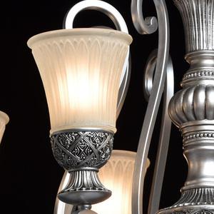 Lampa wisząca Bologna Country 8 Srebrny - 254010908 small 4