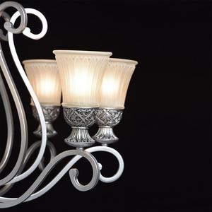 Lampa wisząca Bologna Country 8 Srebrny - 254010908 small 6