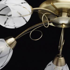 Lampa wisząca Savona Megapolis 5 Złoty - 358011505 small 9