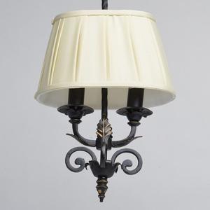 Lampa wisząca Victoria Country 2 Czarny - 401010402 small 1