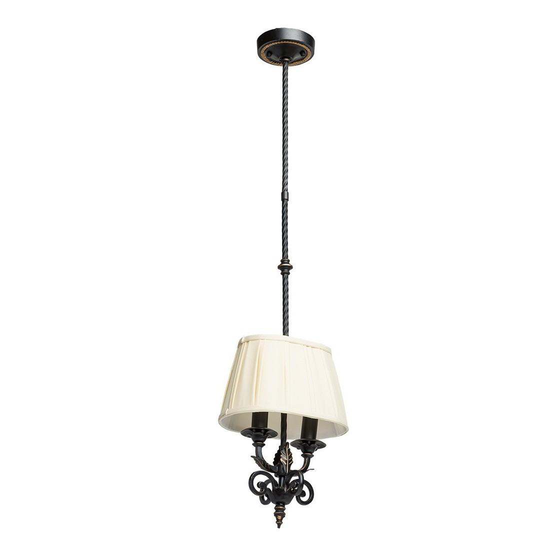 Lampa wisząca Victoria Country 2 Czarny - 401010402