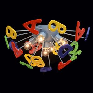 Lampa wisząca Smile Kinder 5 Niebieski - 365013705 small 2