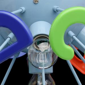 Lampa wisząca Smile Kinder 5 Niebieski - 365013705 small 9