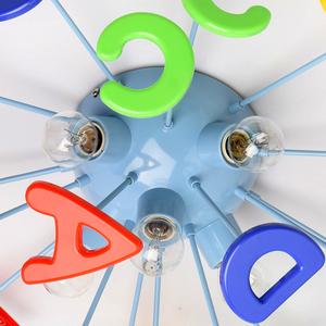Lampa wisząca Smile Kinder 5 Niebieski - 365013705 small 10