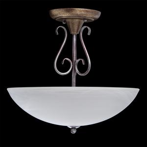 Lampa wisząca Aida Country 3 Brązowy - 323012603 small 1
