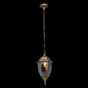 Zewnętrzna lampa wisząca Fabur Street 1 Czarny - 804010401 small 1