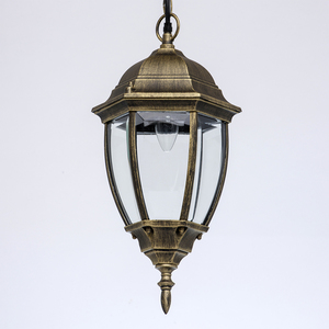 Zewnętrzna lampa wisząca Fabur Street 1 Czarny - 804010401 small 2