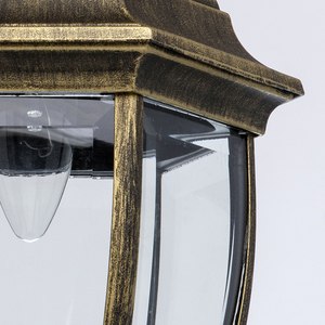 Zewnętrzna lampa wisząca Fabur Street 1 Czarny - 804010401 small 4