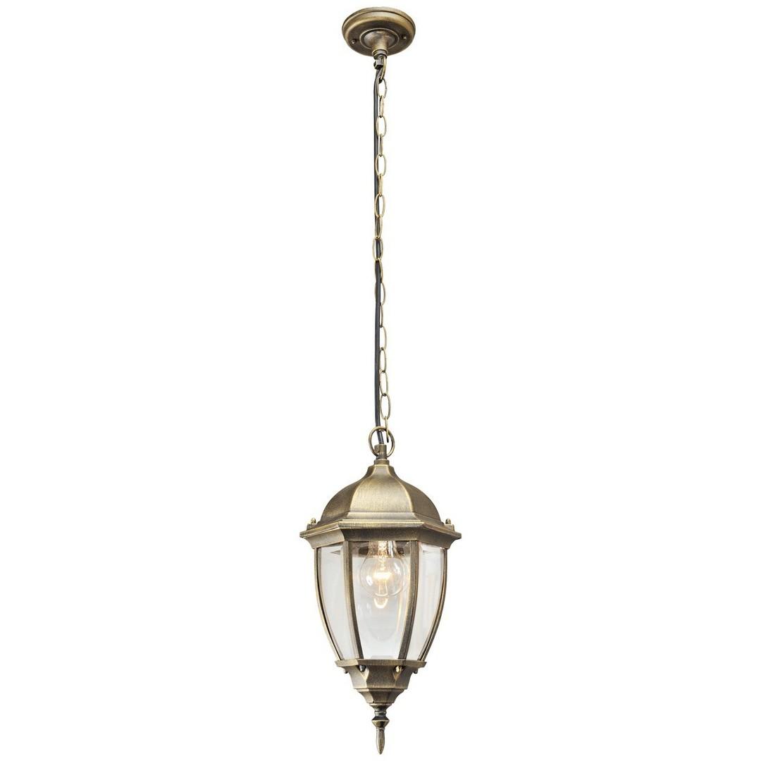 Zewnętrzna lampa wisząca Fabur Street 1 Czarny - 804010401
