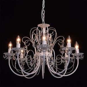 Żyrandol Candle Classic 8 Biały - 301015308 small 2