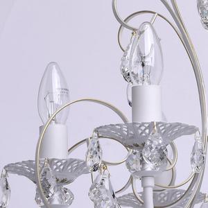 Żyrandol Candle Classic 8 Biały - 301015308 small 4