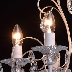 Żyrandol Candle Classic 8 Biały - 301015308 small 5