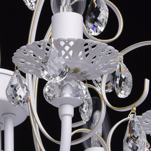 Żyrandol Candle Classic 8 Biały - 301015308 small 6