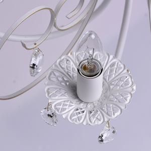Żyrandol Candle Classic 8 Biały - 301015308 small 7