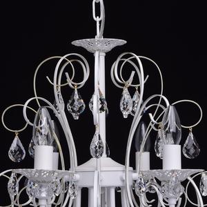 Żyrandol Candle Classic 8 Biały - 301015308 small 9