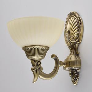 Kinkiet Aphrodite Classic 1 Mosiądz - 317020101 small 2