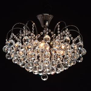 Lampa wisząca Pearl Crystal 6 Szary - 232016306 small 2