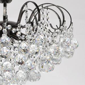 Lampa wisząca Pearl Crystal 6 Szary - 232016306 small 3