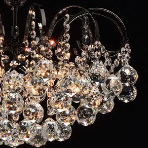 Lampa wisząca Pearl Crystal 6 Szary - 232016306 small 4