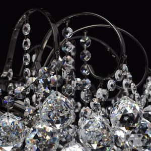 Lampa wisząca Pearl Crystal 6 Szary - 232016306 small 6