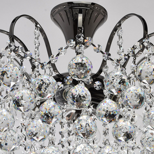 Lampa wisząca Pearl Crystal 6 Szary - 232016306 small 7