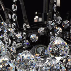 Lampa wisząca Pearl Crystal 6 Szary - 232016306 small 8