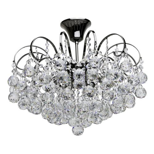 Lampa wisząca Pearl Crystal 6 Szary - 232016306