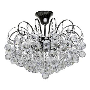 Lampa wisząca Pearl Crystal 6 Szary - 232016306 small 0