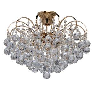 Lampa wisząca Pearl Crystal 6 Złoty - 232016406 small 0