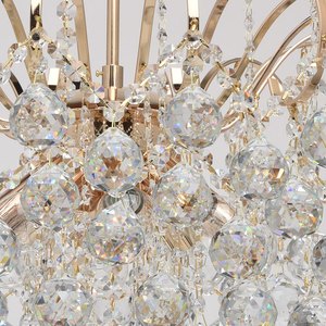 Lampa wisząca Pearl Crystal 8 Złoty - 232016708 small 4