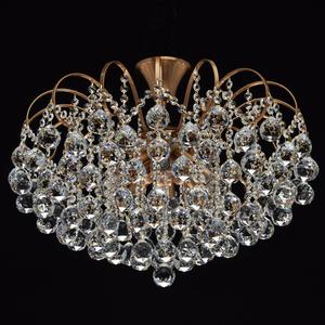 Lampa wisząca Pearl Crystal 8 Mosiądz - 232016808 small 1