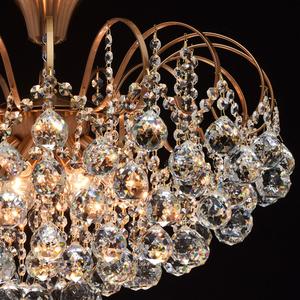 Lampa wisząca Pearl Crystal 8 Mosiądz - 232016808 small 4