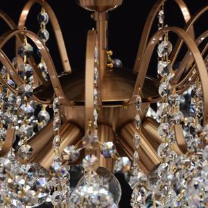 Lampa wisząca Pearl Crystal 8 Mosiądz - 232016808 small 5