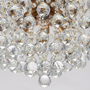 Lampa wisząca Pearl Crystal 8 Mosiądz - 232016808 small 7