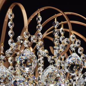 Lampa wisząca Pearl Crystal 8 Mosiądz - 232016808 small 8
